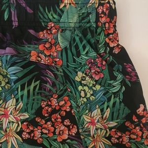 Xersion Shorts - Woman's Floral Running Shorts